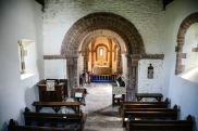 Kilpeck Church interior