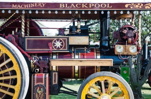 Blackpool tractor