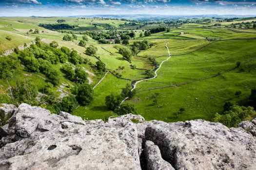 Malham view from top