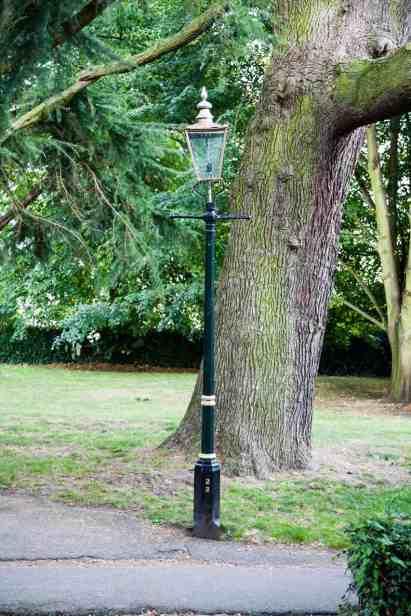 Malvern priory lampost